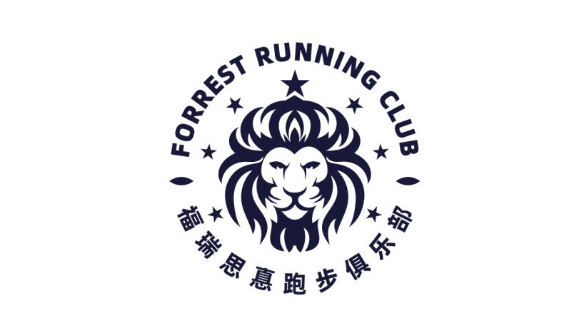 福瑞思真跑步俱乐部LOGO设计