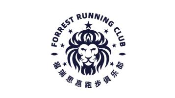 福瑞思真跑步俱樂部LOGO設計