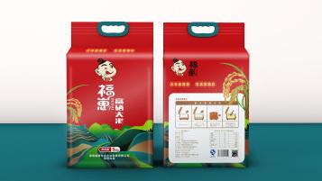 福崽大米品牌包装设计