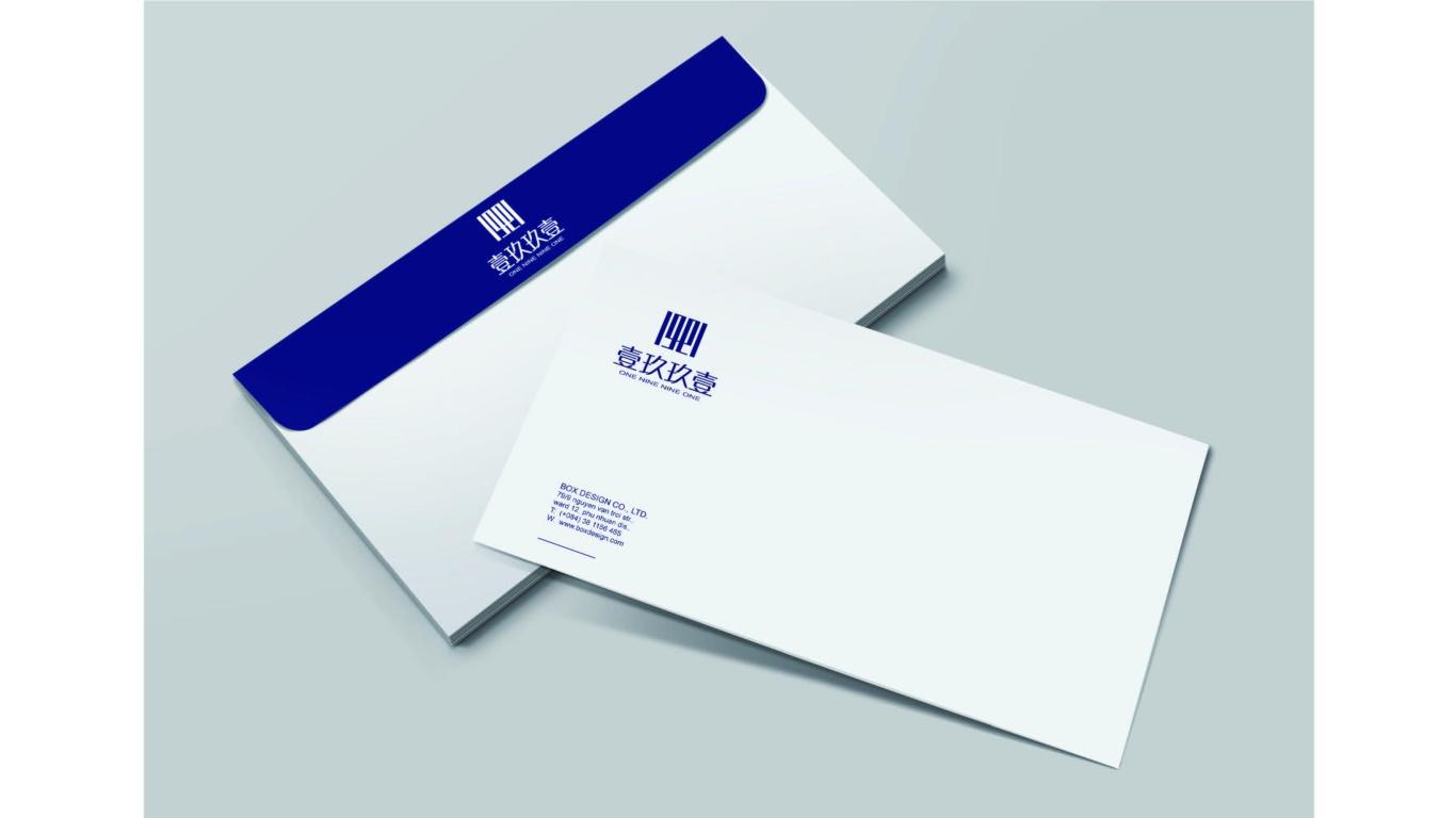 壹玖玖壹文化传媒公司LOGO设计中标图2