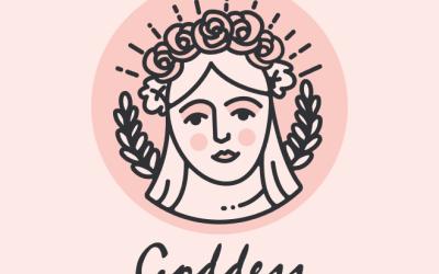 Goddess化妆品牌LOGO设计