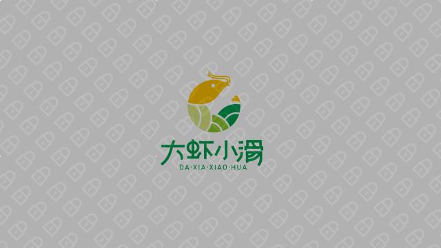 大蝦小滑餐飲品牌LOGO設計入圍方案14