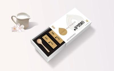 驴奶粉包装设计案例