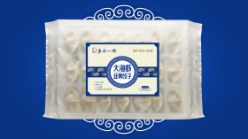 麥品一嬌餃子食品品牌包裝設計