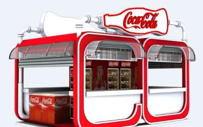 可口可樂(戶外銷售屋)