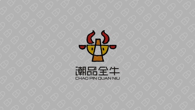潮品全牛火锅品牌LOGO必赢体育官方app入围方案3