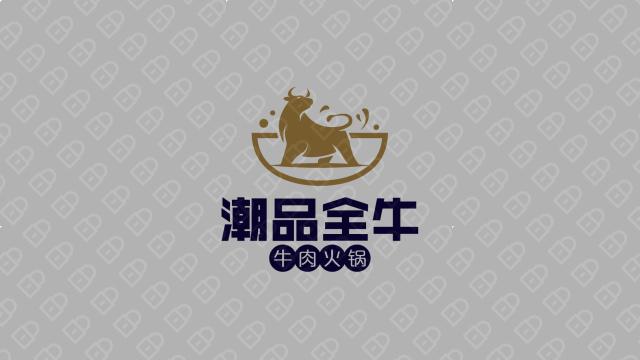 潮品全牛火锅品牌LOGO必赢体育官方app入围方案1