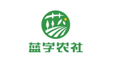 蓝字农社品牌LOGO乐天堂fun88备用网站
