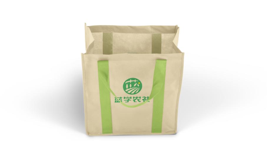 蓝字农社品牌LOGO设计中标图3