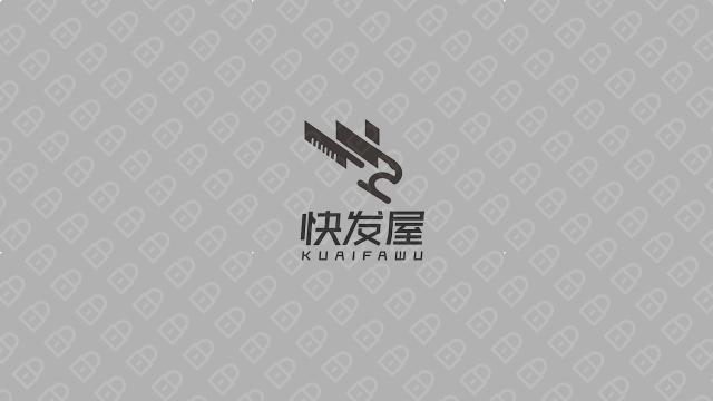 快发屋时尚连锁店铺LOGO设计入围方案9