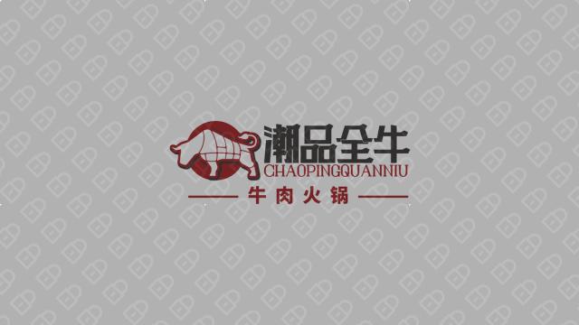 潮品全牛火锅品牌LOGO必赢体育官方app入围方案6