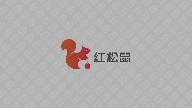 红松鼠电商品牌LOGO设计入围方案7