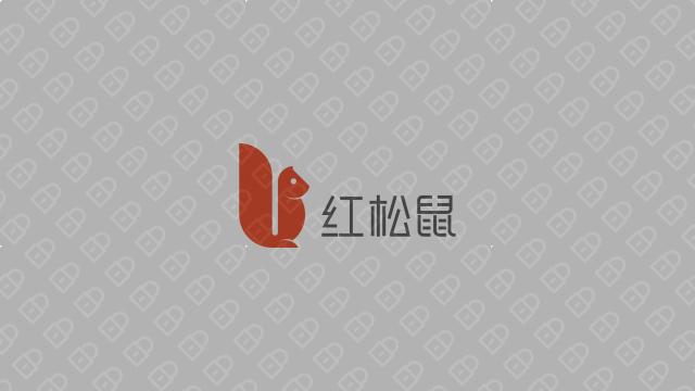 红松鼠电商品牌LOGO设计入围方案5