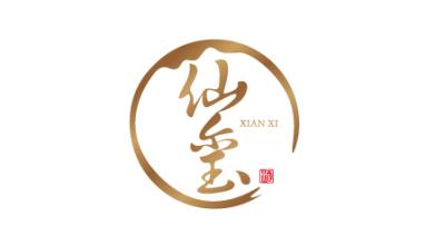 仙璽酒業品牌LOGO設計