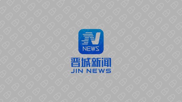 晋城新闻文化传媒品牌LOGO设计入围方案4