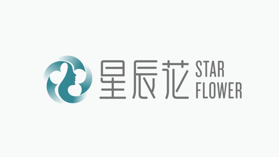 星辰花医疗公司LOGO设计