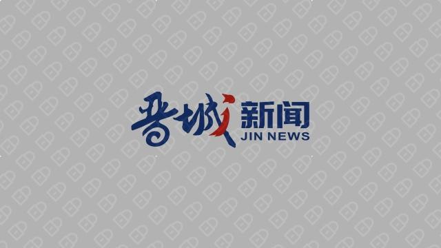 晋城新闻文化传媒品牌LOGO设计入围方案1