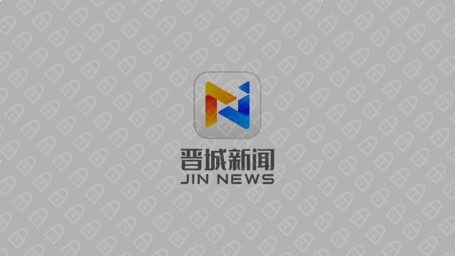 晋城新闻文化传媒品牌LOGO设计入围方案5