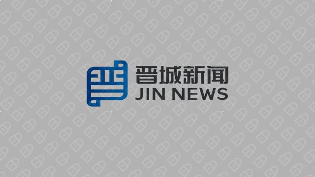 晋城新闻文化传媒品牌LOGO设计入围方案2