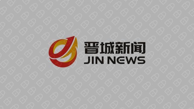 晋城新闻文化传媒品牌LOGO设计入围方案3