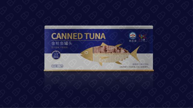 青远渔品牌金枪鱼罐头包装设计入围方案0