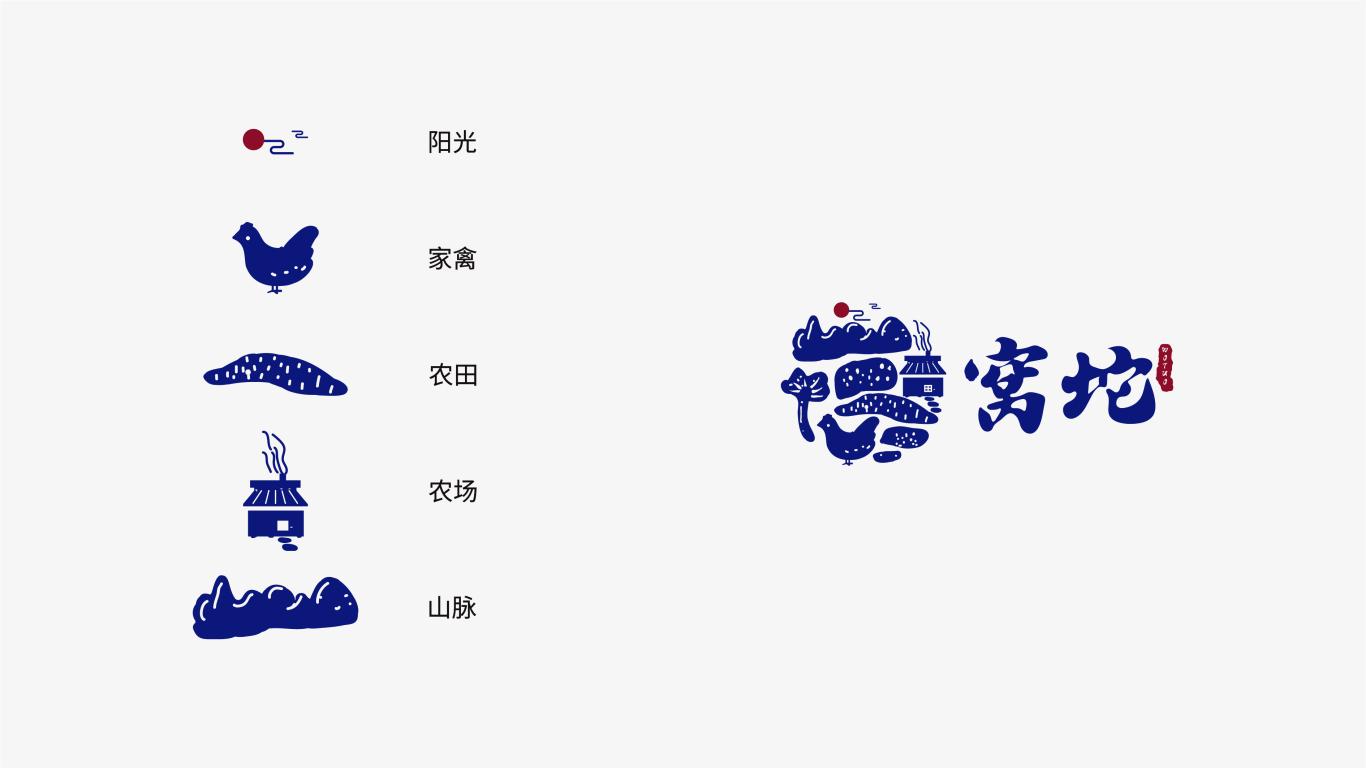 窝坨农牧品牌LOGO乐天堂fun88备用网站中标图3