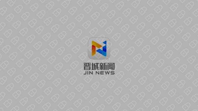 晋城新闻文化传媒品牌LOGO设计入围方案11