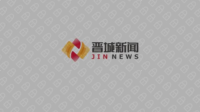 晋城新闻文化传媒品牌LOGO设计入围方案7