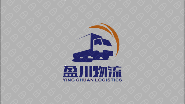 盈川物流公司LOGO設計入圍方案1