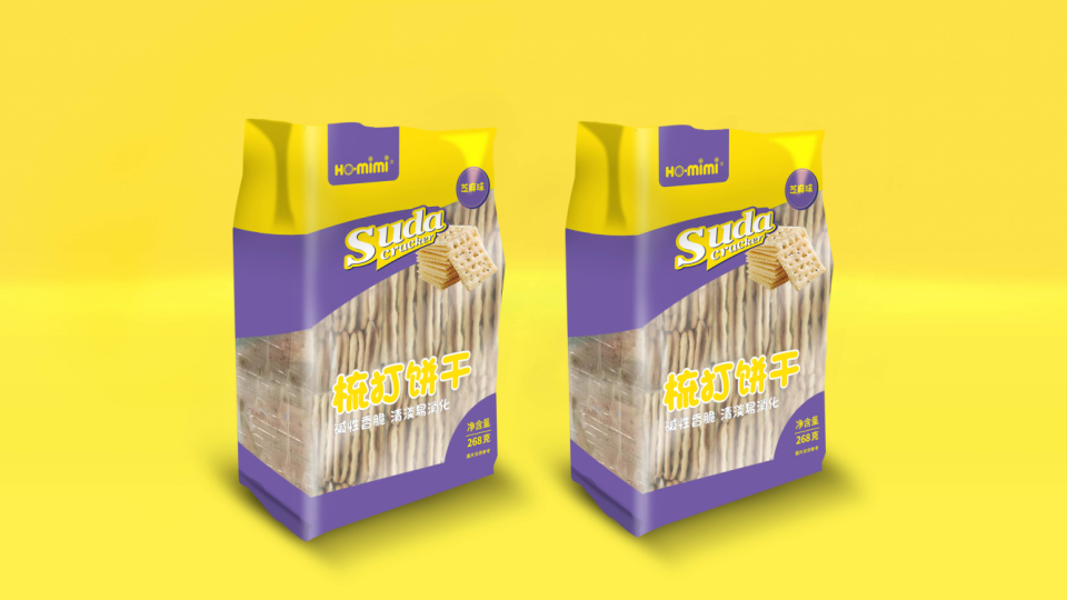 HO.mimi苏打饼干包装设计