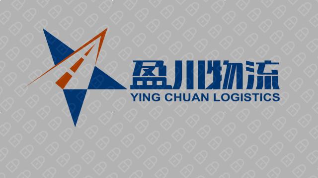 盈川物流公司LOGO設計入圍方案2