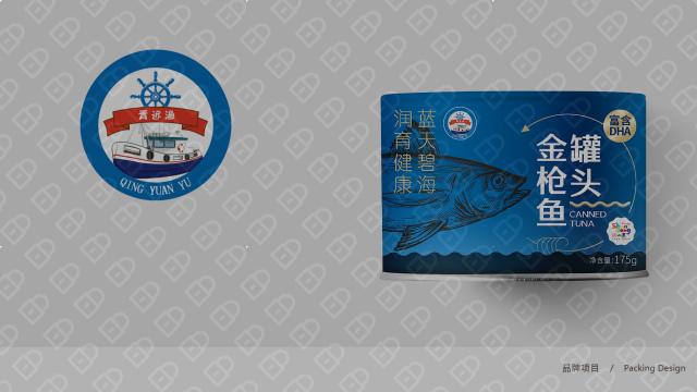 青远渔品牌金枪鱼罐头包装设计入围方案6