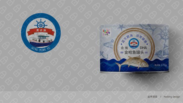 青远渔品牌金枪鱼罐头包装设计入围方案5