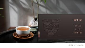 杨门一派高端有机红茶w88优德包装设计