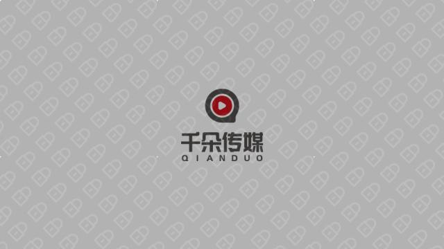 千朵传媒影视公司LOGO设计入围方案7