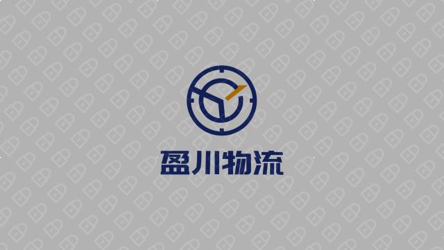 盈川物流公司LOGO設計入圍方案3