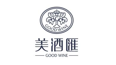 美酒匯全球食品品牌LOGO设计
