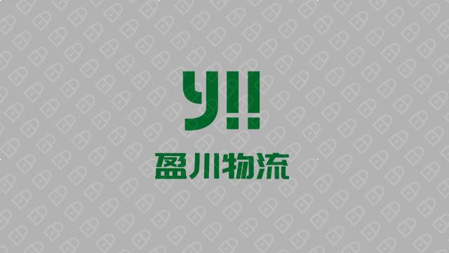 盈川物流公司LOGO設計入圍方案5
