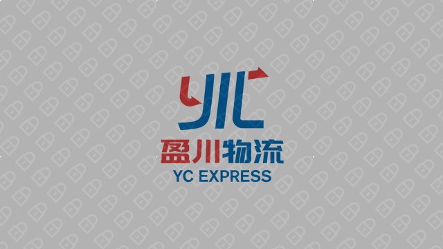 盈川物流公司LOGO設計入圍方案4