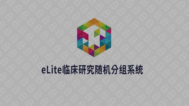 eLite醫療科技平臺LOGO設計入圍方案0