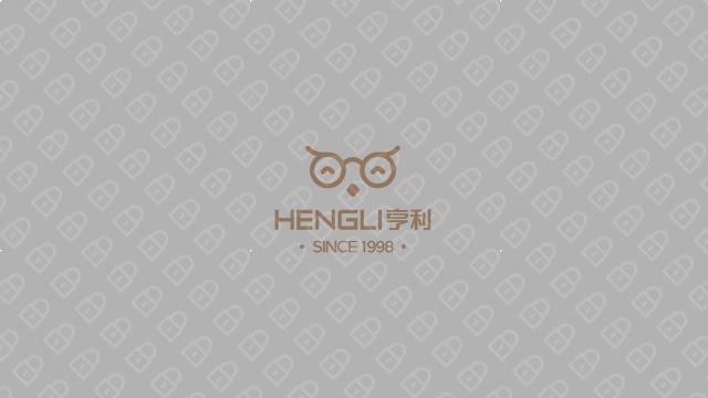 亨利眼鏡店LOGO設計入圍方案6