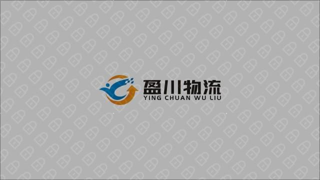 盈川物流公司LOGO設計入圍方案7