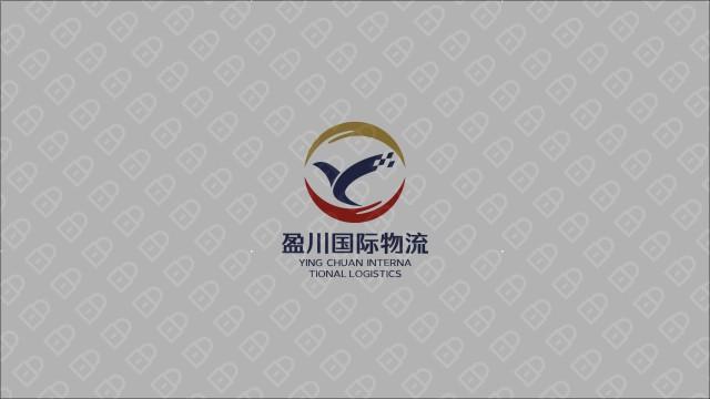 盈川物流公司LOGO設計入圍方案8