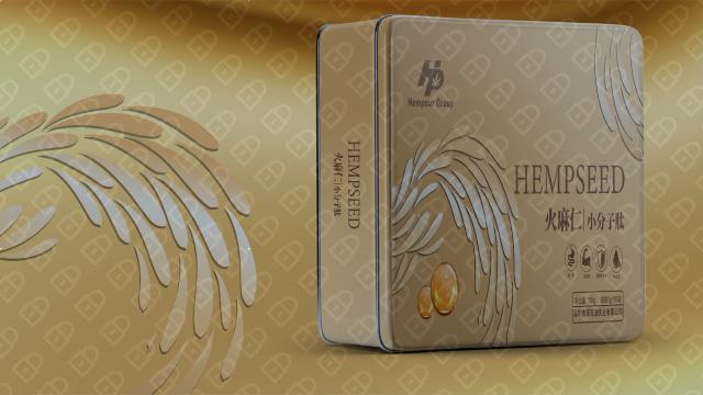 恒泊保健品品牌包装设计入围方案6