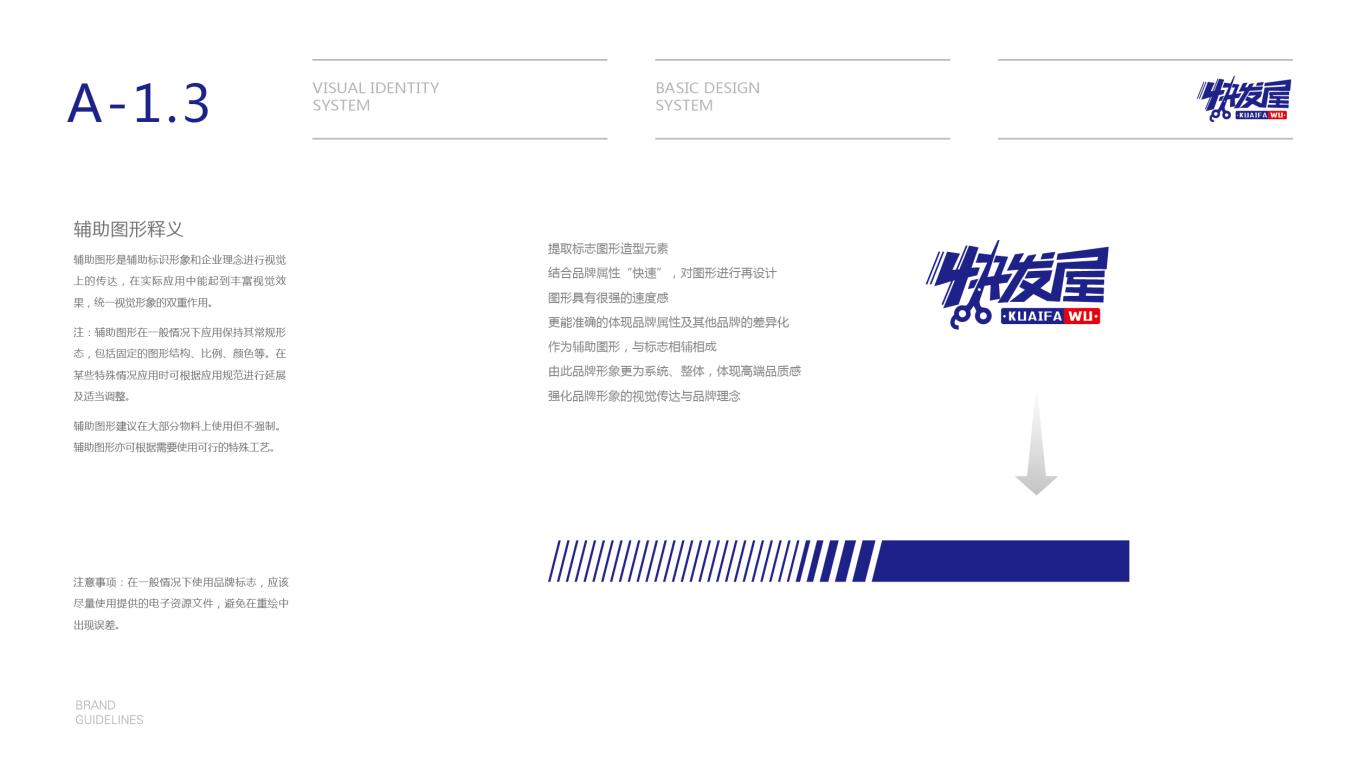 快发屋美发店VI设计中标图4