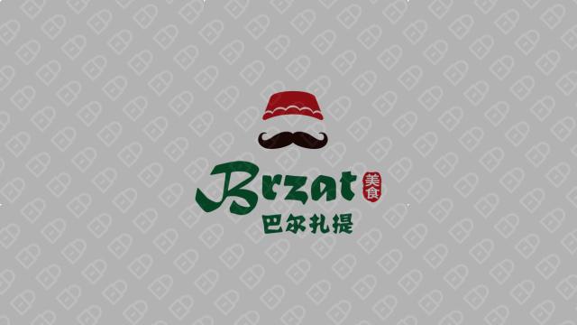 巴爾扎提美食品牌LOGO設計入圍方案0