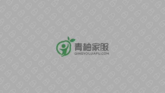 青柚家政服務公司LOGO設計入圍方案1