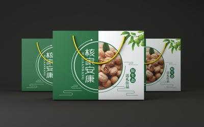 核桃、棗禮盒包裝設計