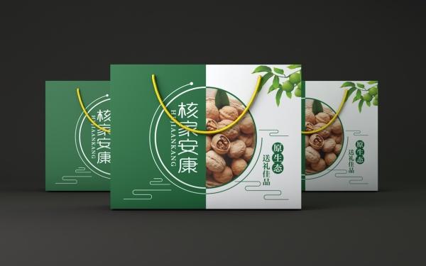 核桃、枣礼盒包装设计