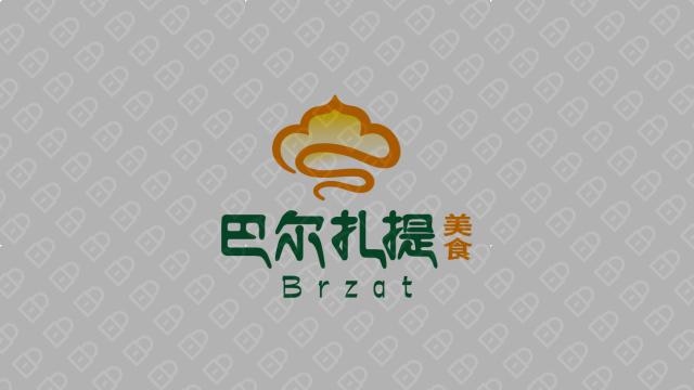 巴爾扎提美食品牌LOGO設計入圍方案3